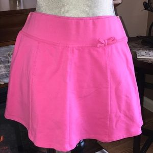 New Adorable Girl's Hot Pink Skort XL 14-16